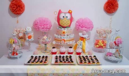 Sismooni 36 - تزیینات زیبا برای جشن سیسمونی که سیمونی های دخترانه و پسرانه را زیباتر می کنند