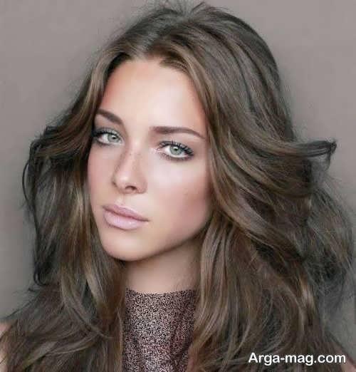 Smoky brown hair color 1 - فرمول ترکیب رنگ موی قهوه ای دودی و نکاتی که باید بدانید