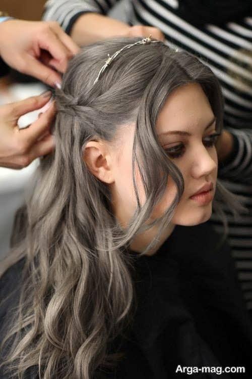 Smoky brown hair color 10 - فرمول ترکیب رنگ موی قهوه ای دودی و نکاتی که باید بدانید