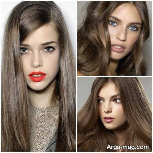 Smoky brown hair color 12 - فرمول ترکیب رنگ موی قهوه ای دودی و نکاتی که باید بدانید