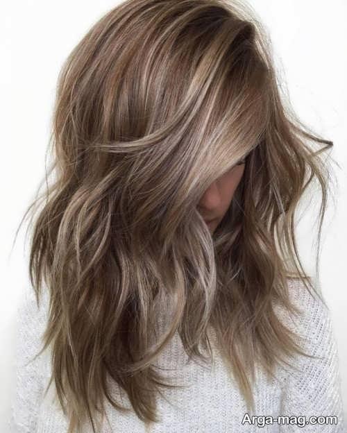 رنگ موی زنانه قهوه ای دودی