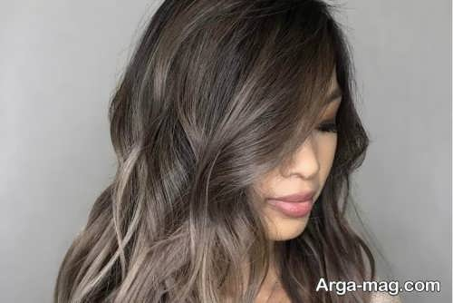 Smoky brown hair color 7 - فرمول ترکیب رنگ موی قهوه ای دودی و نکاتی که باید بدانید