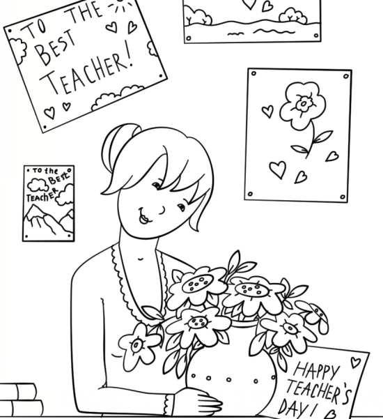 نقاشی جالب برای روز معلم