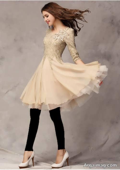 مدل پیراهن عروسکی دخترانه زیبا
