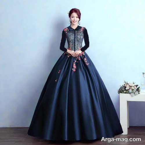 مدل لباس عروسکی بلند