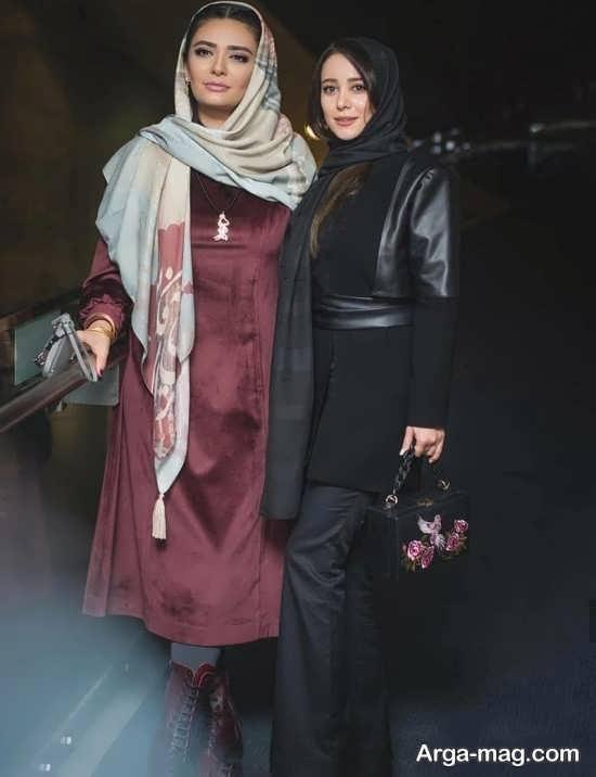 مدل مانتوی شیک و زیبا بازیگران ایرانی