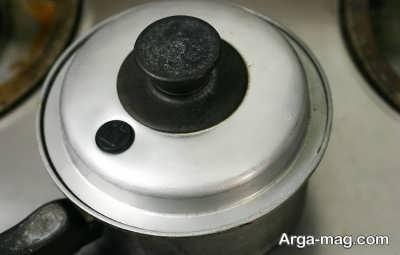 از بین بردن بوی بد سوختگی برنج