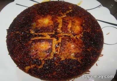 رفع بوی برنج سوخته با نان و پیاز