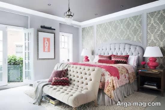 اتاق خواب ایده آل با طراحی سنتی