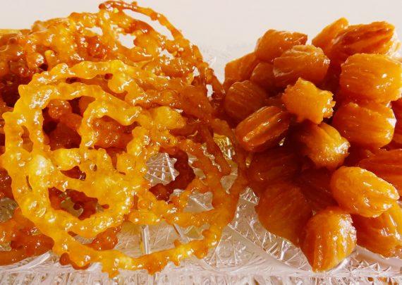 طرز تهیه زولبیا و بامیه خانگی