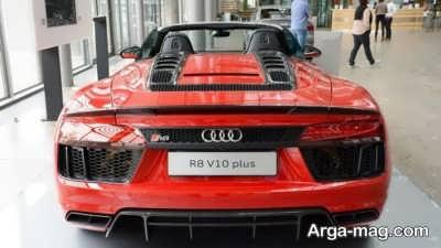 مدل های ارزان خودرو آئودی R8 و V10 پلاس