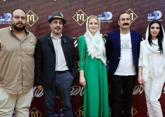 رضا عطاران و بازیگران ارمنی فیلم مصادره