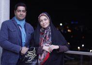 آزاده نامداری و همسر دومش به کنسرت مانی رهنما رفتند+عکس