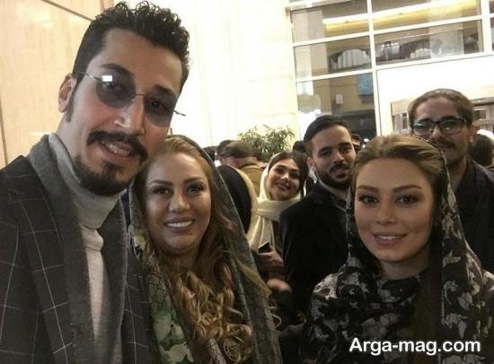 bahramafshari - بهتاش سریال پایتخت و سحر قریشی در یک قاب