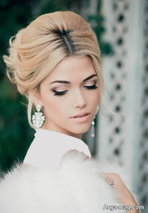 مدل موی زیبا و متفاوت برای عروس