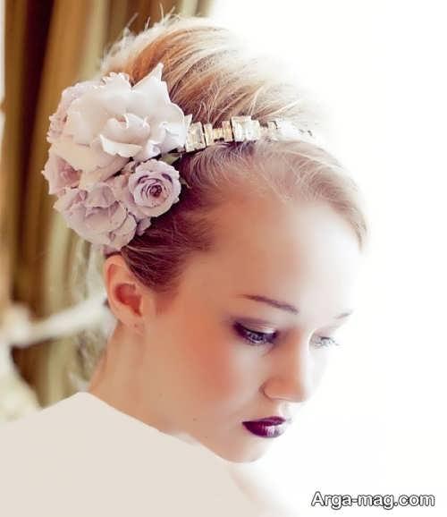 مدل موی عروس برای صورت کشیده و لاغر