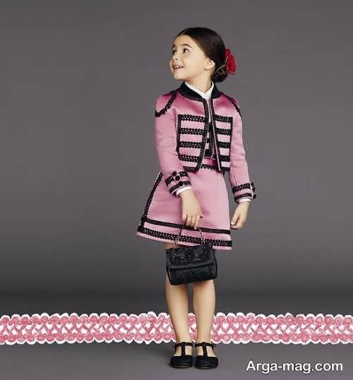 children skirt and coat model 1 - مدل کت و دامن بچه گانه برای دختر بچه های خوش پوش