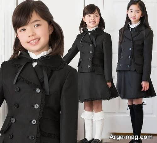 children skirt and coat model 10 - مدل کت و دامن بچه گانه برای دختر بچه های خوش پوش