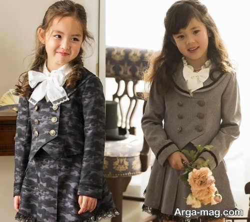 children skirt and coat model 12 - مدل کت و دامن بچه گانه برای دختر بچه های خوش پوش