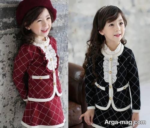 children skirt and coat model 14 - مدل کت و دامن بچه گانه برای دختر بچه های خوش پوش