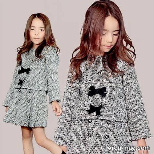 children skirt and coat model 16 - مدل کت و دامن بچه گانه برای دختر بچه های خوش پوش