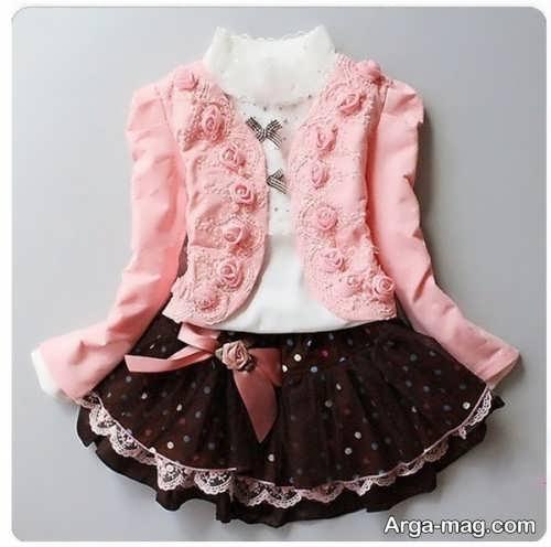 children skirt and coat model 17 - مدل کت و دامن بچه گانه برای دختر بچه های خوش پوش