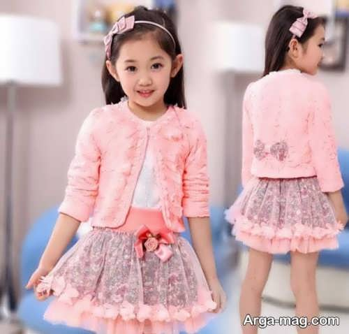 children skirt and coat model 19 - مدل کت و دامن بچه گانه برای دختر بچه های خوش پوش