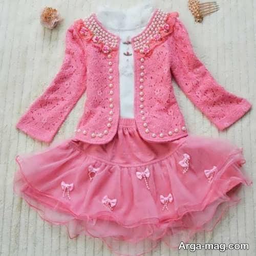 children skirt and coat model 2 - مدل کت و دامن بچه گانه برای دختر بچه های خوش پوش