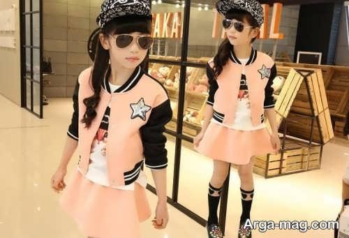 children skirt and coat model 20 - مدل کت و دامن بچه گانه برای دختر بچه های خوش پوش