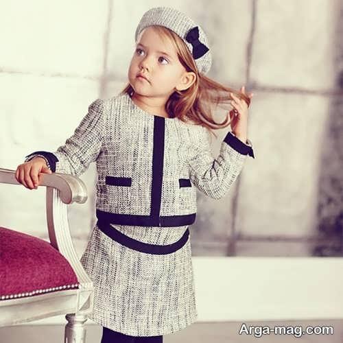 children skirt and coat model 3 - مدل کت و دامن بچه گانه برای دختر بچه های خوش پوش