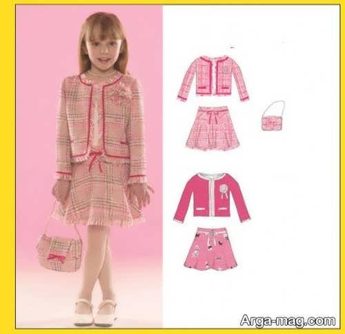children skirt and coat model 4 - مدل کت و دامن بچه گانه برای دختر بچه های خوش پوش