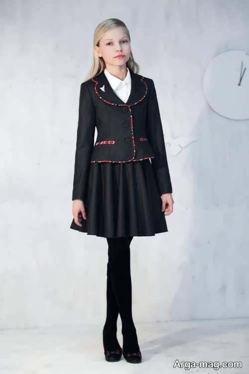 children skirt and coat model 5 - مدل کت و دامن بچه گانه برای دختر بچه های خوش پوش