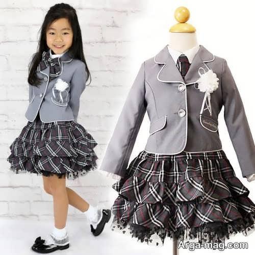 children skirt and coat model 7 - مدل کت و دامن بچه گانه برای دختر بچه های خوش پوش