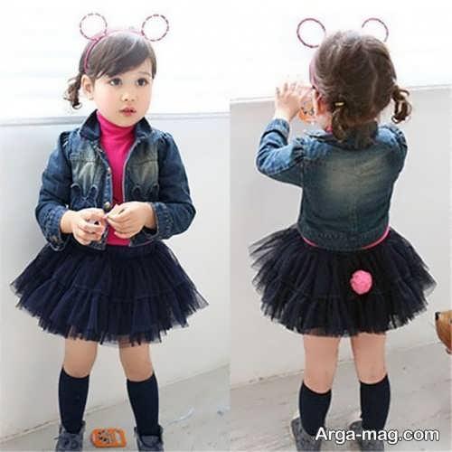 children skirt and coat model 8 - مدل کت و دامن بچه گانه برای دختر بچه های خوش پوش