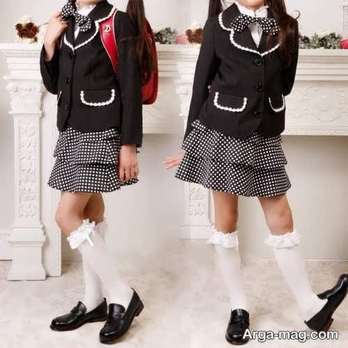 children skirt and coat model 9 - مدل کت و دامن بچه گانه برای دختر بچه های خوش پوش