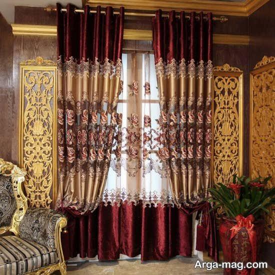 fancy curtain 11 - مدل پرده فانتزی و شیک با طرح های متفاوت