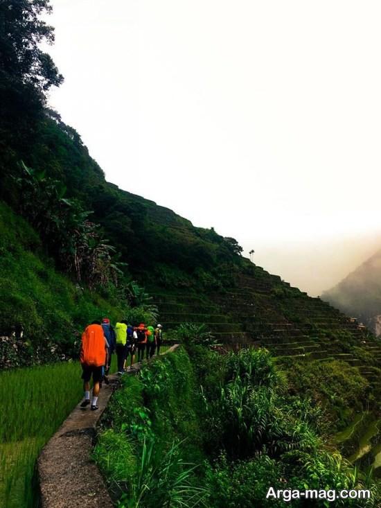کوه های سرسبز فیلیپین