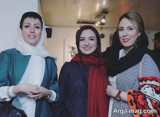 gelare abbasi 1 - گلاره عباسی و بزرگمهر حسین پور در یک قاب