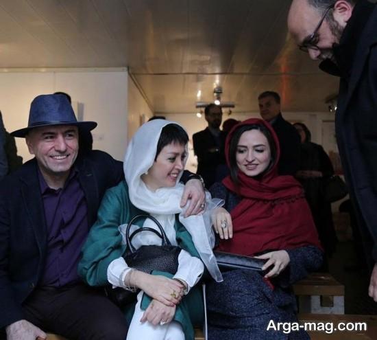 gelare abbasi 2 - گلاره عباسی و بزرگمهر حسین پور در یک قاب