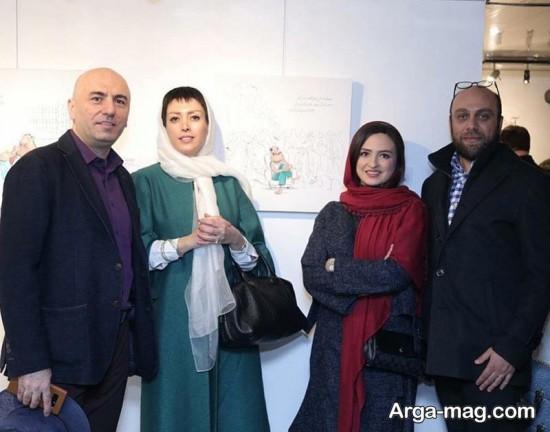 gelare abbasi 3 - گلاره عباسی و بزرگمهر حسین پور در یک قاب