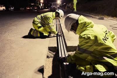 راه اندازی جاده های برقی