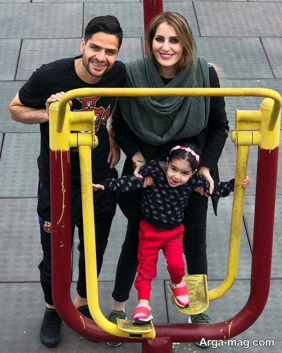 kamal kamyabi nia 4 - عکس های جدید قرمز پوش پایتخت در کنار خانواده اش