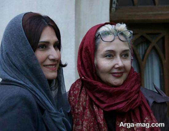 katayoun riahi 1 - عکس های منتشر شده از کتایون ریاحی در موزه سینما تهران