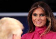 بوسه رئیس جمهور فرانسه به دست همسر ترامپ