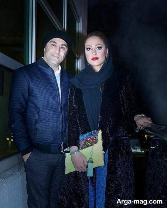 محسن تنابنده بازیگر پایتخت و همسرش