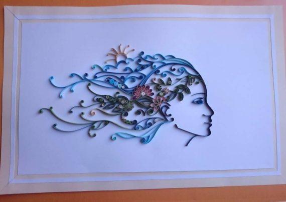 طراحی هنرمند خلاق روسی