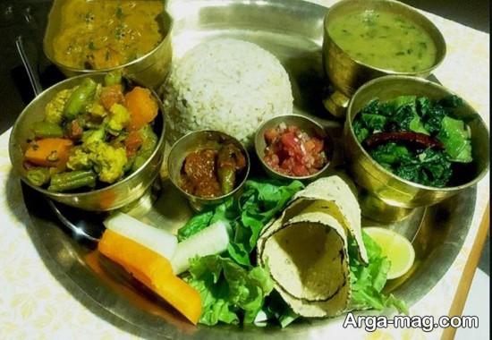 غذاهای کشور نپال