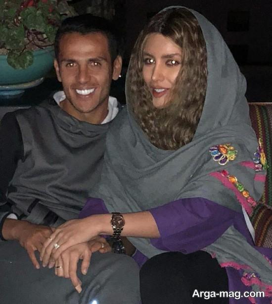 niki mehrabi 1 - نیکی محرابی و همسرش به کافه رفتند + عکس
