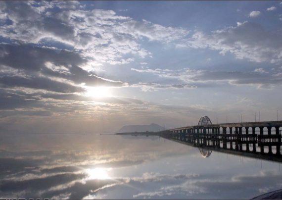 خبر بالا آمدن آب دریاچه ارومیه در سال 97
