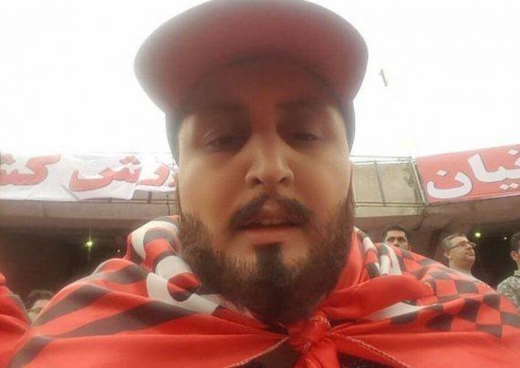 خانم هوادار پرسپولیس با گریمی مردانه به استادیوم رفت + عکس